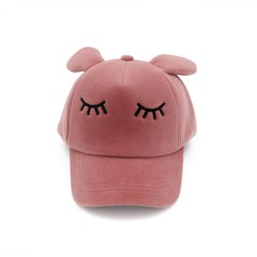 Child's Lovely Velvet Baseball Cap