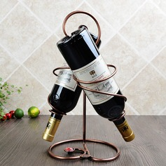 Creative Stainless Steel/Plating Bottle Holder / Wine Rack