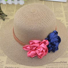 Ladies' Pretty Rattan Straw Straw Hat