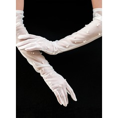 Tulle Opera Length Bridal Gloves