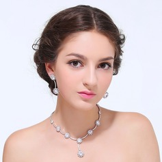 Classic Zircon With Cubic Zirconia Ladies' Jewelry Sets