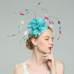 Signore Affascinante/Elegante/Fantasia Piuma con Piuma Fascinators/Kentucky Derby Hats