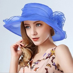 Damen Klassische Art Organza Schlapphut/Kentucky Derby Hüte/Tea Party Hüte