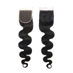 "4""*4"" 3A Body Human Hair Closure"
