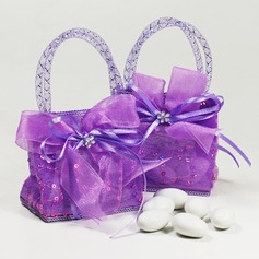 Handbag shaped Favor Bags With Ribbons