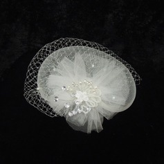 Damer' Gorgeous Netto garn/Strass Fascinators/Tea Party Hattar