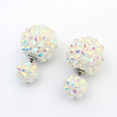 Chic Alloy Rhinestones Women's Fashion Earrings