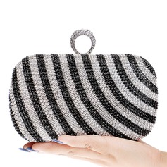 Charming Crystal/ Rhinestone/Alloy Clutches/Minaudiere