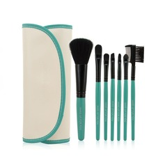 7 Pcs Makeup Brush Set With PU Pouch CB0706MFY 6 Color For Option