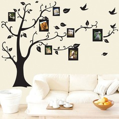 Beautiful photo tree, removable wallpaper (Sold in a single piece)