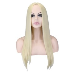 Straight Synthetic Hair Capless Wigs 230g