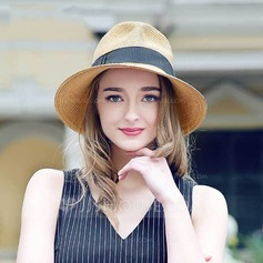 Ladies' Fashion Rattan Straw Straw Hat