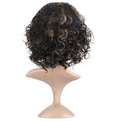 Wavy Bob Synthetic Wigs African American Wigs