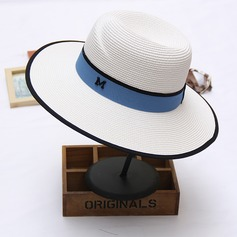 Ladies' Elegant Raffia Straw Floppy Hat