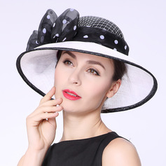 Ladies' Glamourous/Elegant/Handmade/High Quality Cambric With Bowknot Kentucky Derby Hats/Tea Party Hats