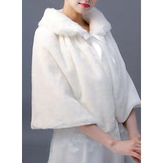 Faux Fur Wedding Shawl (013220602)