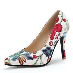 Frauen Kunstleder Stöckel Absatz Absatzschuhe mit Andere Schuhe