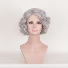 Wavy Synthetic Hair Capless Wigs