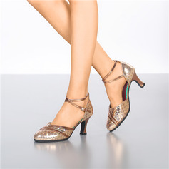Women's Leatherette Pumps Latin Ballroom Dance Shoes