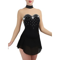 Women's Dancewear Chinlon Latin Dance Dresses (115175521)