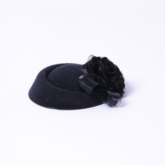 Elegant Siden blomma Fascinators/Tea Party Hattar