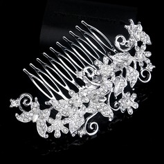 Glamourous Rhinestone/Alloy Combs & Barrettes
