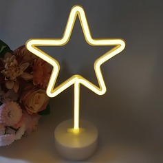 Star design Lovely Plastic LED Lights
