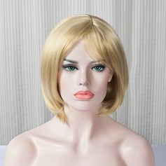 Straight Bob Capless Hair Weaves/Weft Synthetic Wigs