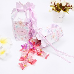 Handbag shaped Pearl Paper Favor Boxes