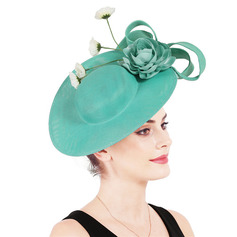 Damer' Glamorösa/Elegant med Blomma Fascinators/Kentucky Derby Hattar