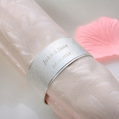 Personalized Zinc Alloy Napkin Rings (118030940)