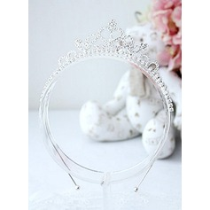 Rhinestones Flower Headband