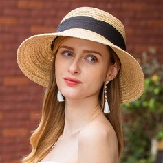 Ladies' Charming Raffia Straw Straw Hat