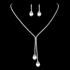Ladies' Beautiful Rhinestones Jewelry Sets For Bridesmaid/For Mother