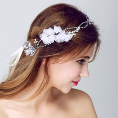 Fashion Rhinestone/Alloy/Artificial Silk Headbands