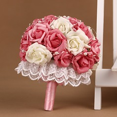 Eye-catching PE Bridal Bouquets