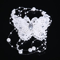 Ladies Fashion Imitation Pearls/Lace/Acrylic Combs & Barrettes