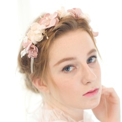Beautiful/Flower Shaped Satin Headbands