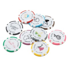 Personalized Resin Poker Chip