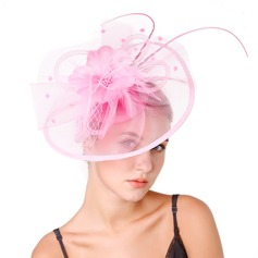 Ladies' Special/Classic/Elegant/Unique/Simple Net Yarn With Feather Fascinators/Kentucky Derby Hats