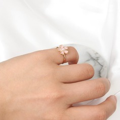 Adjustable Beautiful Alloy Ladies' Fashion Rings