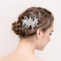 Ladies Beautiful Crystal/Rhinestone/Alloy/Imitation Pearls Hairpins