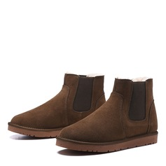 Suede Snow Boats Casual Men's Boots