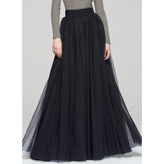 A-Line/Princess Floor-Length Tulle Cocktail Skirt