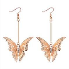 Unique Alloy Copper Women's Fashion Earrings
