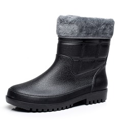 Men's Rubber Rain Boats Casual Men's Boots (261172540)
