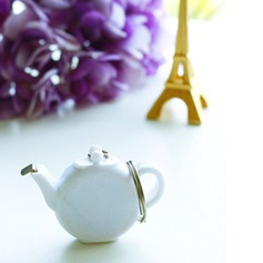 Baby Birthday Favor Teapot Tape Measure Keychain