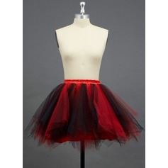 Women/Girls Tulle Netting/Polyester Short-length 2 Tiers Petticoats