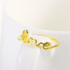 Unique Silver Plated Ladies' Fashion Rings