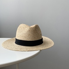 Unisex Hottest Linen/Salty Straw Straw Hats/Panama Hats/Kentucky Derby Hats